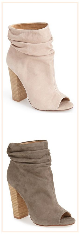 Slouch booties: i'll take a pair in each color, please! #FallMustHaves