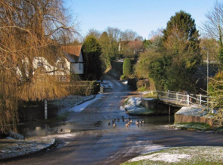 Ford at Braughing, used to cross over it to the shop to get ice cream