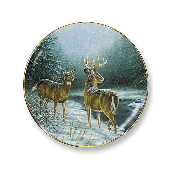 Wild Wings Broken Silence Decorative Plate
