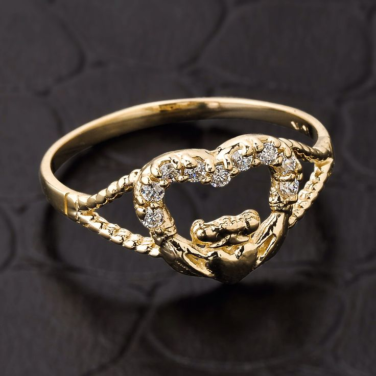 Best 25 Gold claddagh ring ideas on Pinterest