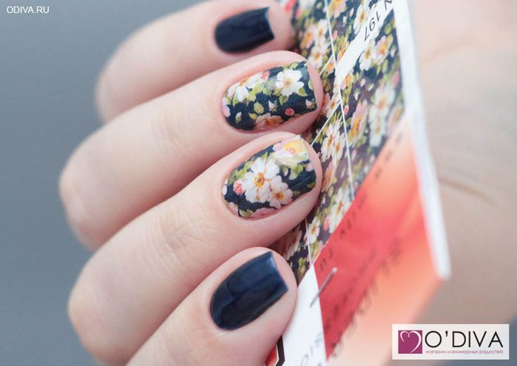 "Milv, слайдер-дизайн ""Цветы N197"" http://odiva.ru/~UuGwi Milv, лак для ногтей (#27) http://odiva.ru/~j6TNa Milv, лак для ногтей (#37) http://odiva.ru/~9G2AU  #milv #милв #водныенаклейки #наклейкидляногтей #слайдердизайн"