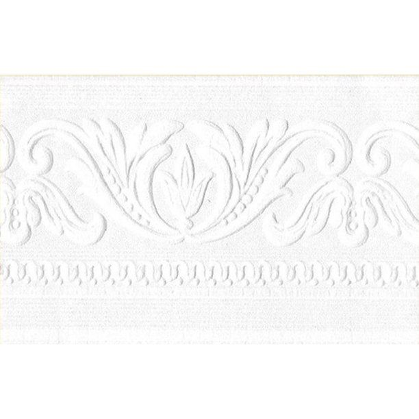879401 Architectural Paintable Wallpaper Border Walmart Com In 2021 Paintable Wallpaper Wallpaper Border Paintable Textured Wallpaper