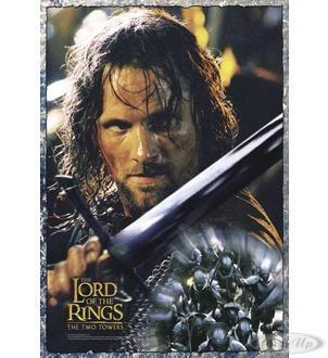 Herr der Ringe Poster Die zwei Türme Aragorn Hier bei www.closeup.de