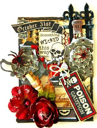 Are you a fan of Artist Trading Cards? Come see what DT Member, Irene Tan created with Petaloo's Velvet Holiday Blossoms.http://petaloo.typepad.com/blog/2012/10/halloween-atc.html