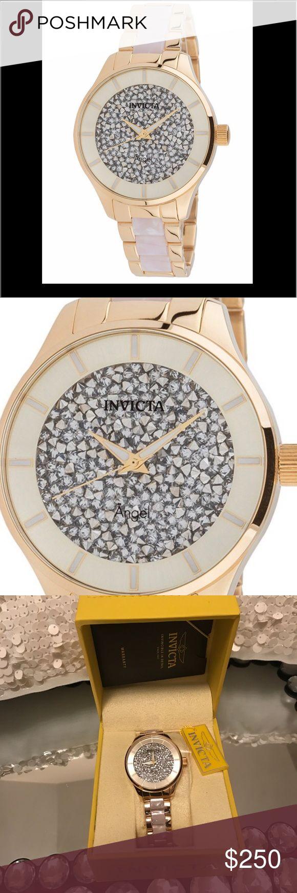 Watch💋💛 Invicta Angel  Women's Gold   quartz 40mm invicta Accessories Watches