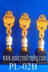 Jual Trophy Piala Penghargaan, Trophy Piala Kristal, Piala Unik, Piala Boneka, Piala Plakat, Sparepart Trophy Piala Plastik Harga Murah Agen Jual Piala Trophy Marmer Murah-PL-02B