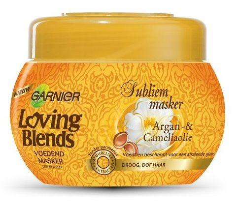 Garnier Nds masker argan cam 300ml  Speciaal voor droog en dof haar heeft Garnier Loving Blends twee kostbare oliën gecombineerd die bekend staan om hun intense voeding en zachtheid.  EUR 5.49  Meer informatie