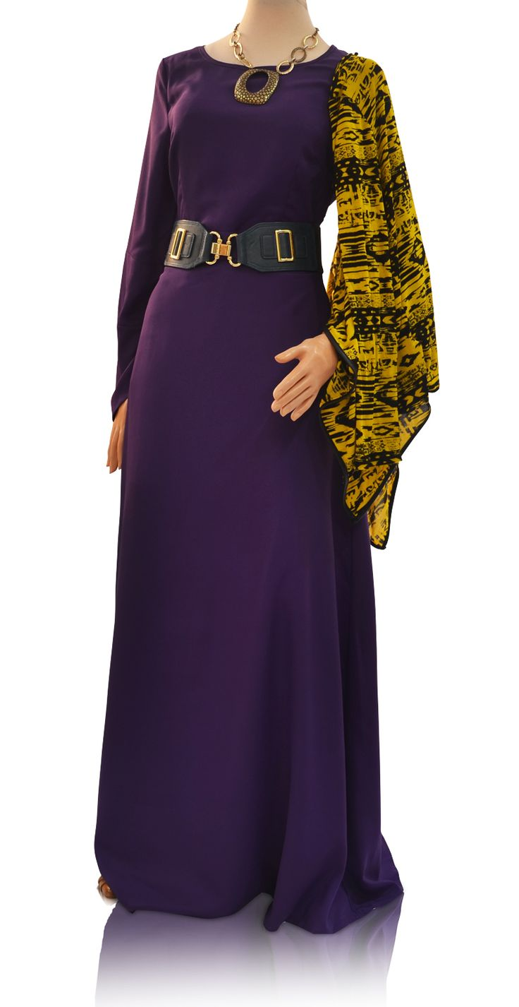 Purple Haze Maxi Dress - Take over the universe in the purple envelope sleeved dress.  This gorgeous maxi dress can be worn day or night.