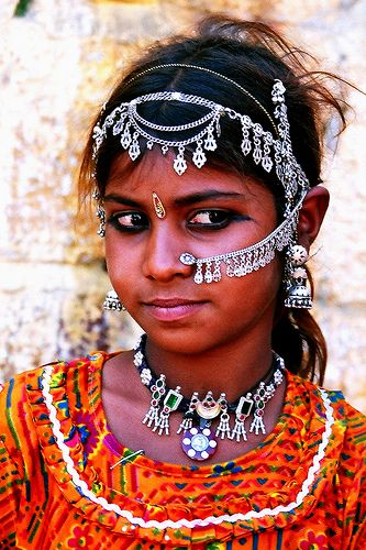 portrait fillette rajasthan | Flickr - Photo Sharing!