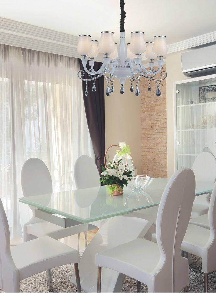 Nowoczesne wnętrze + klasyczna lampa? To może być dobre połączenie! Lampa Lakszmi Zuma Line