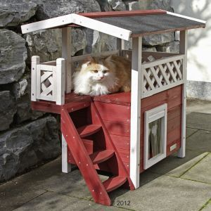 Outdoor cat houses: Great Deals at zooplus!: Swedish Cat House Lodge: