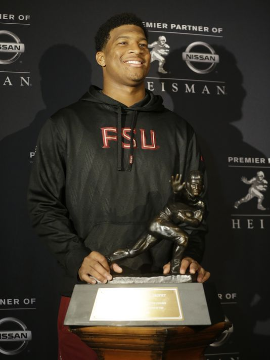 Jameis Winston poised on eve of Heisman ceremony