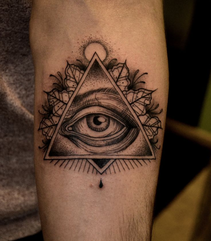 All Seeing Eye Tattoo Designs: 35 Best 1.Tattoo All Seeing Eye Images On Pinterest