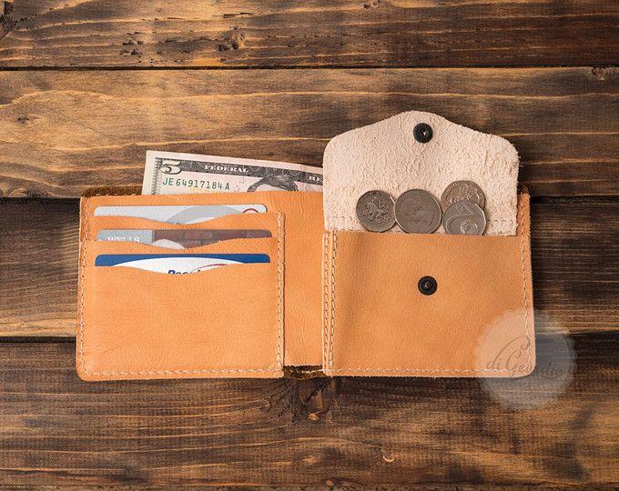 cartera hombre cartera monedero slim tarjeta titular cartera cuero moneda cartera viaje cartera cartera minimalista cuero fino monedero de cuero para hombre