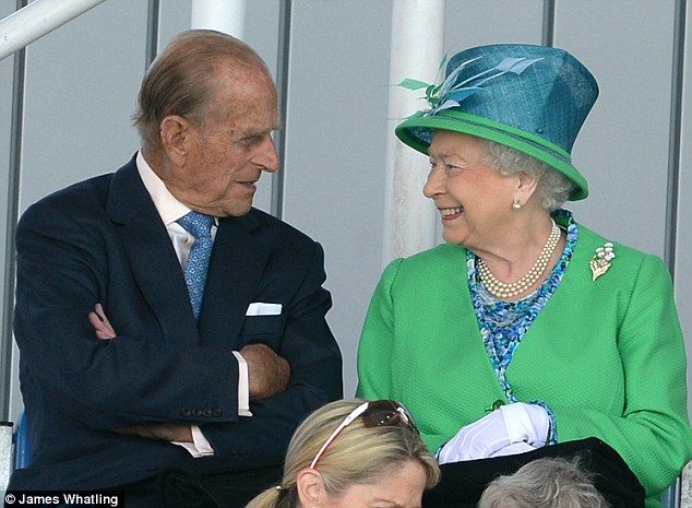 The Queen and The Duke of Edinburgh were visiting the National Hockey Centre at Glasgow on the opening day of the Games  -- July 24, 2014