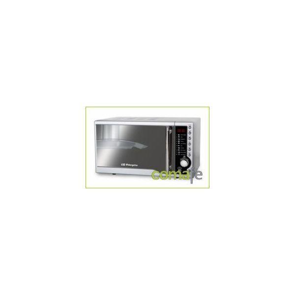 HORNO MICROONDAS ORBEGOZO C/GRILL INOX MIG-1811 ESP
