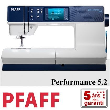 Pfaff Performance 5.2 symaskine