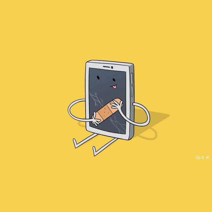 La pantalla de tu celular pronto podría imitar la piel humana y auto-curarse.