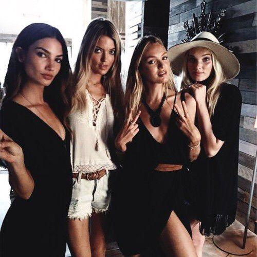 Image via We Heart It #beautiful #fashion #friends #girl #model #victoriasecret