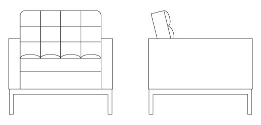 Mejores 28 im genes de bloques autocad muebles de oficina for Muebles de oficina knol
