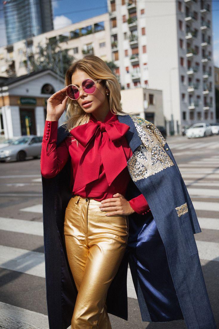 STREET STYLEпредставляет NEW LOOK от брендовой и модной одежды BELLA POTEMKINA, которая не перестает удивлять и творит зачастую невероятные вещи в луках и образах, сама при этом всегда оставаясь легкой и романтичной.