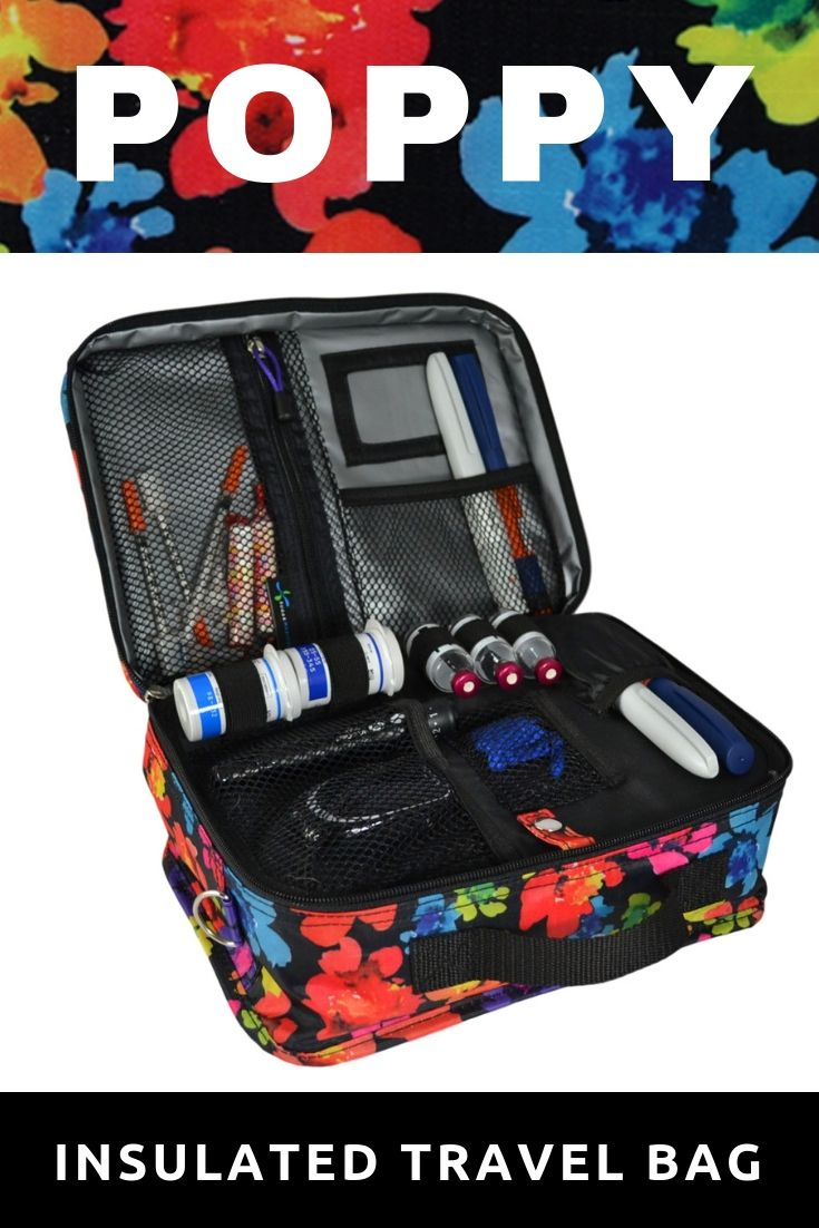 Poppy Travel Bags Diabetes Bag