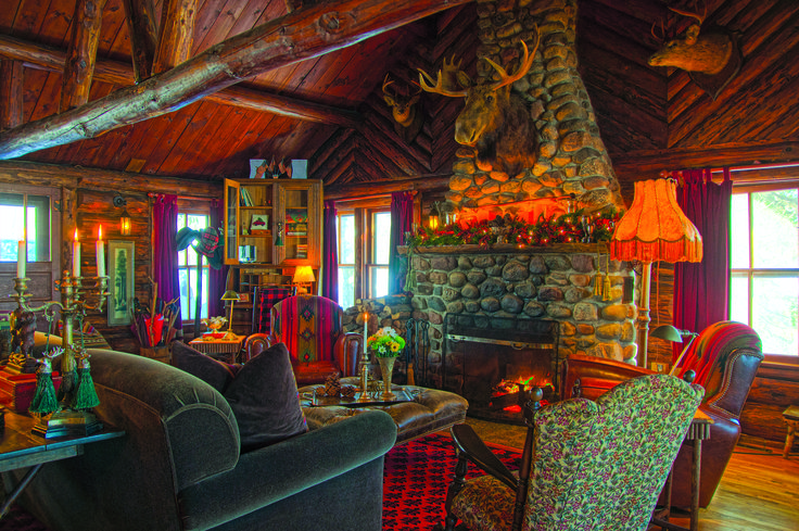 Creating Timeless Style: Spider Lake Lodge owner mines the past for today's cabins.