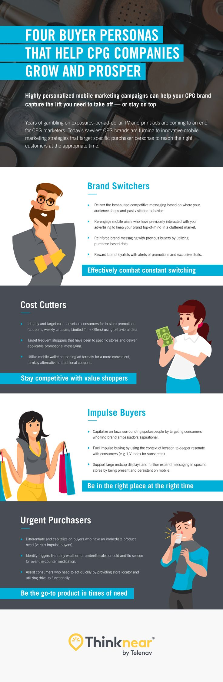 #Marketing #Infographics - The CPG market may be cluttered, and buyers are definitely fickle — but the mobile marketing space gives you the room you need to influence consumers. Location intelligence and robust data analytics can provide the who, when, and where for engaging digital experiences that keep existing customers happy and entice new ones to buy.