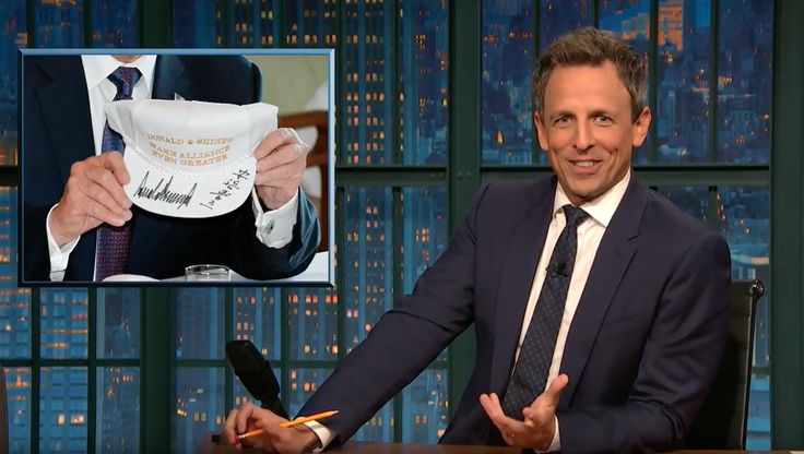 New top story from Time: Megan McCluskeySeth Meyers Sends a Brutal Message to Donald Trump With MAGA Hat Redesign http://time.com/5013161/seth-meyers-trump-hat-redesign/  Visit http://www.omnipopmag.com/main For More!!! #Omnipop #Omnipopmag