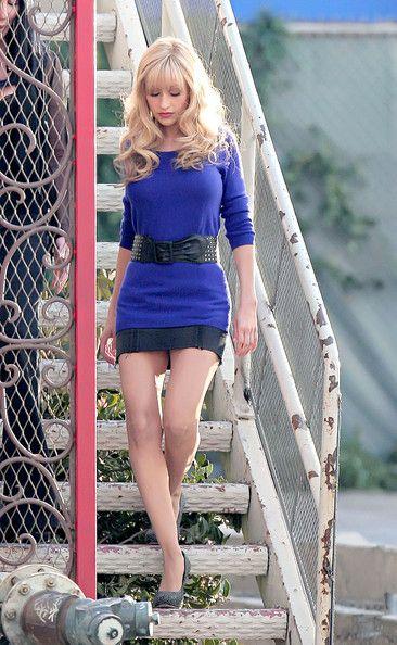 Christina Aguilera and Cher Film 'Burlesque' 3
