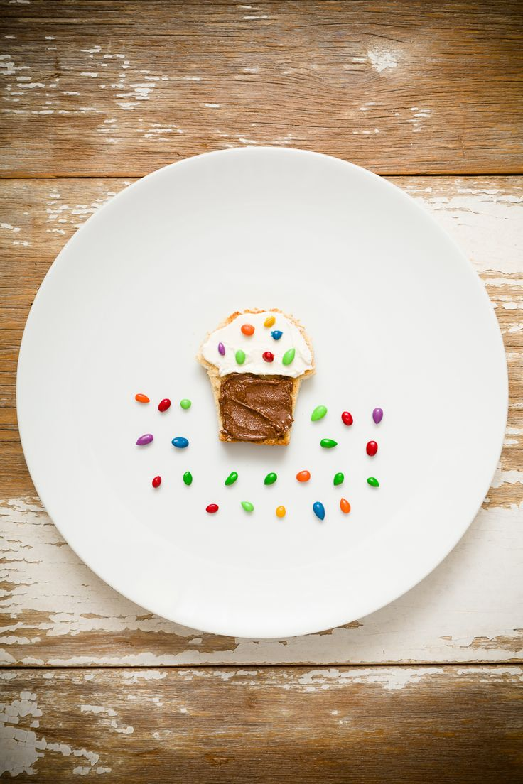 How to make april fools day chocolate bunny filled with veggies - April Fool S Day Cupcakes Are A Fun Surprise Snack From Cupcake Project