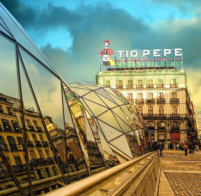 Puerta del Sol. TIO PEPE   Flickr: Intercambio de fotos