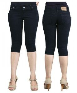 celana pendek skinny wanita warna hitam murah | tokofobia.com toko fashion online murah dan berkualitas