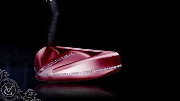 Valgrine 'Cupidon': golfer's ultimate (bespoke) putter half-mallet