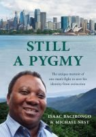 This is a great read about the interesting life of Isaac a Pygmy who was raised in the forests of the Congo. The book describes the background of the Pygmy people and their special status and rituals. Isaac is intelligent, he gets an education and starts a business and marries the woman he loves. His story, his struggle to survive and eventual fleeing to Australia isn't a happy ending but it is hoped this book will allow him to get the understanding of who he is.