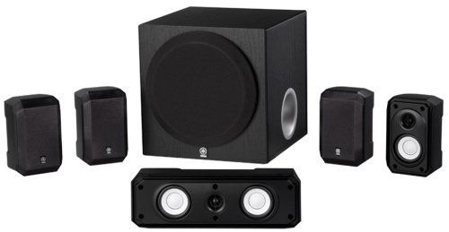 The Yamaha NS-SP1800BL 5.1-channel home theater speaker package is a low cost, convenient way to enjoy the full benefits of 5.1-channel home theater sound. The NS-SP1800BL features advanced Yamaha Active Servo Technology (Advanced YST), which is a unique system in which the speaker and amplifier work together to cancel out impedance so the speaker unit has a perfectly linear motion. Advanced YST helps to ensure the highest levels of sound pressur...