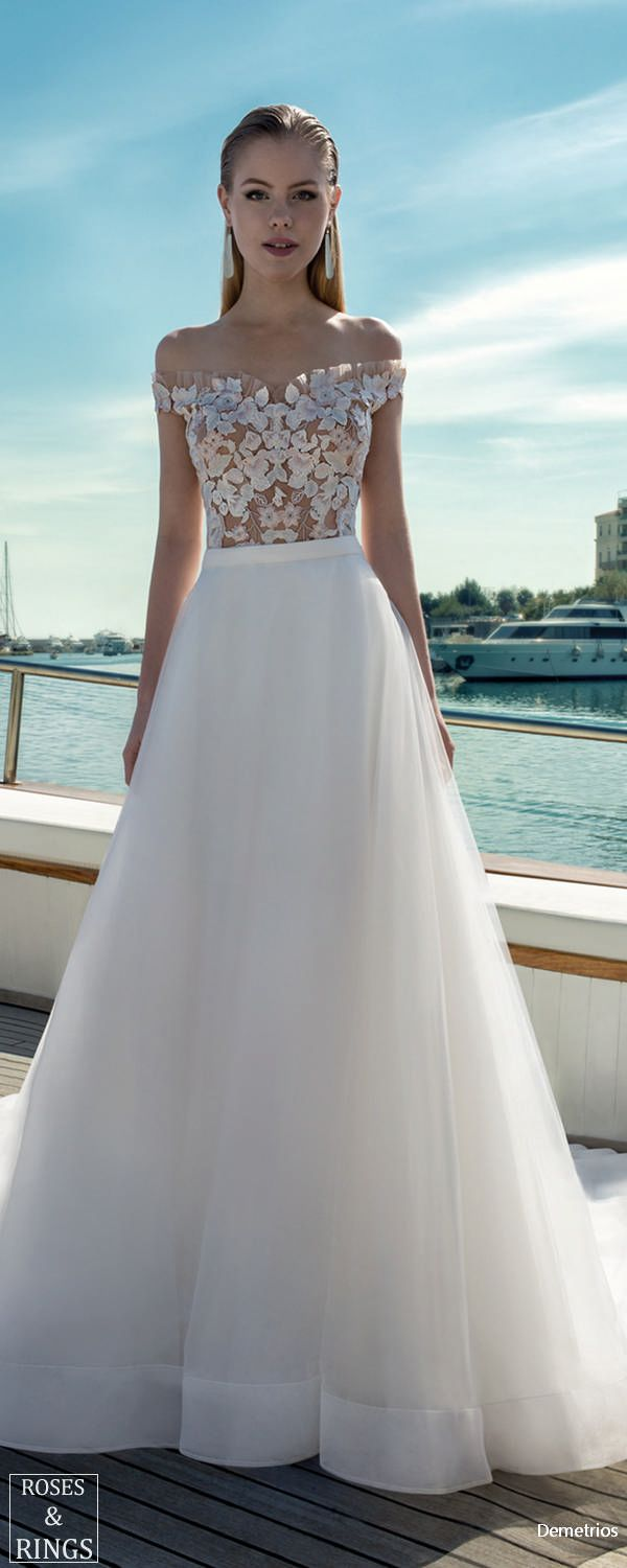 Demetrios Destination Beach Wedding Dresses 2019 Wedding Dresses