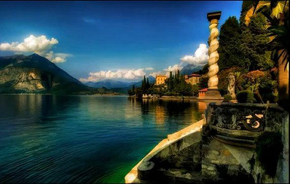 Un'altra bella vista dell'Italia. (Another beautiful view of Italy). I am practicing my Italian language via CD-Roms..with plans to return. This time, I would like to travel at a more leisurely pace. On my agenda..the northern Lakes District..such as Lakes Como and Maggiari, Presented by: onegreattrip.com