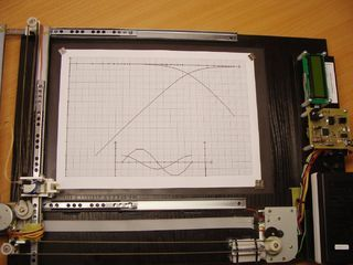 Cheap, Nice and Weird A4 Graph Plotter ($25 + Some Scrap)