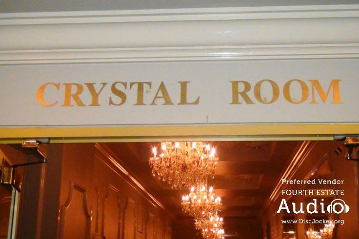 The Crystal Room at Drury Lane in Oakbrook Terrace provides an intimate and gracious setting for the perfect wedding.