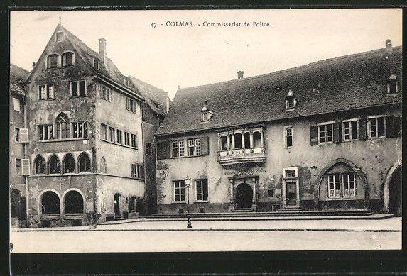 Colmar / Alsace / France Place de la Cathétrale, Ancien corps de garde & Maison Adolph