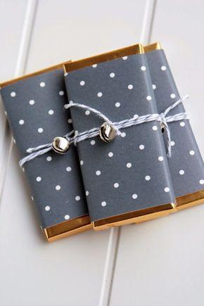 27 ideas originales (y fáciles) para envolver tus regalos de Navidad