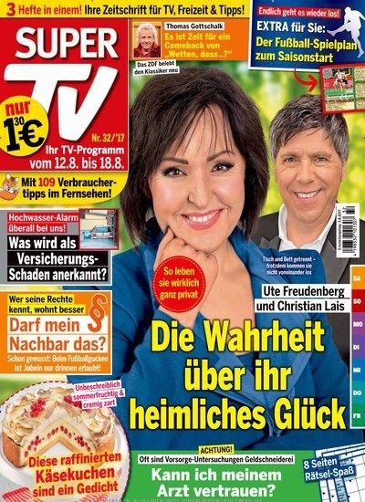 Ute Freudenberg und Christian Lais - Die #Wahrheit über ihr heimliches #Glück Jetzt in Super TV:  # Stars #prominent #gossip #backen