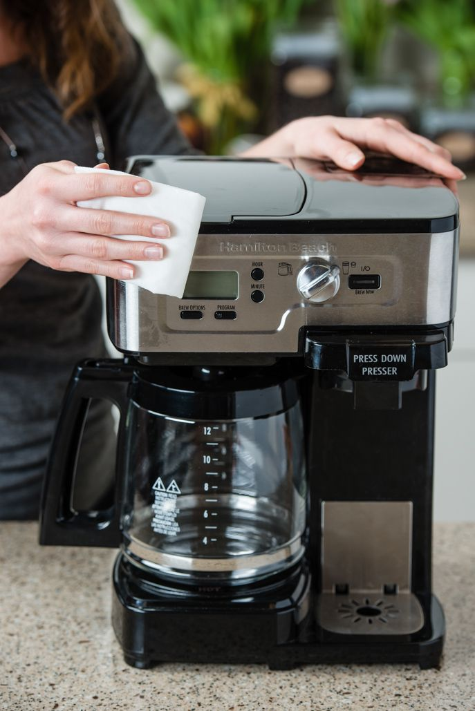 How to Clean Your Coffee Maker from Everyday Good Thinking @Hamilton Beach