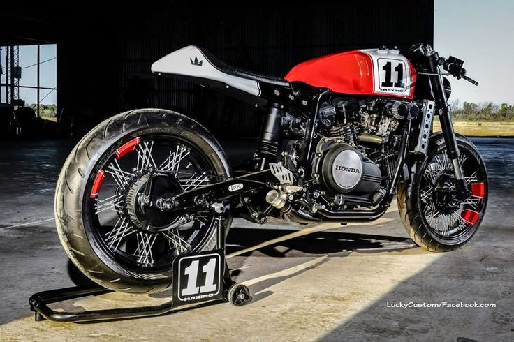 "Lsr Bikes: Honda VF 750 Cafe Racer ""Maximo"" by Lucky Custom"