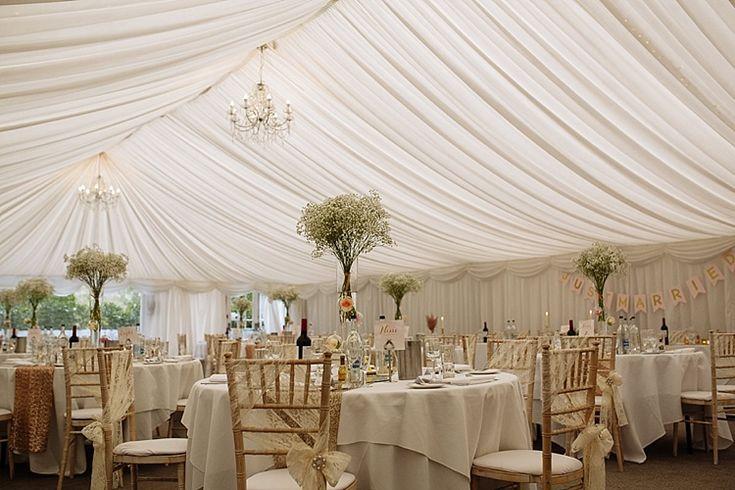 Marquee Woodlands Hotel Luxe Gold Blush Romantic Wedding http://toastofleeds.co.uk/