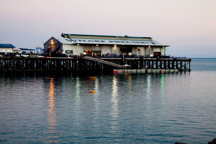 Wharf Precinct, Darwin, Australia Great for breaky ,lunch and dinner