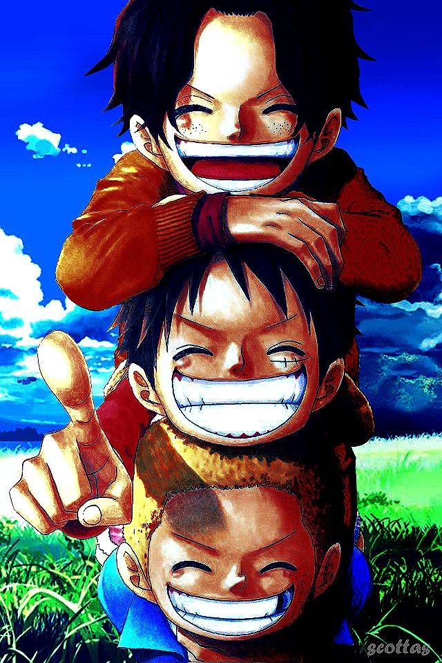 One Piece Luffy Ace Sabo