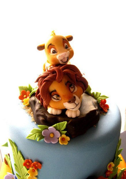 Want this cake!!! The Lion King - by SogniDiZucchero @ CakesDecor.com - cake decorating website
