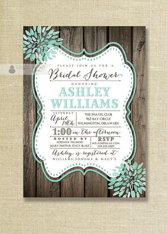 best 20+ cheap bridal shower invitations ideas on pinterest, Wedding invitations